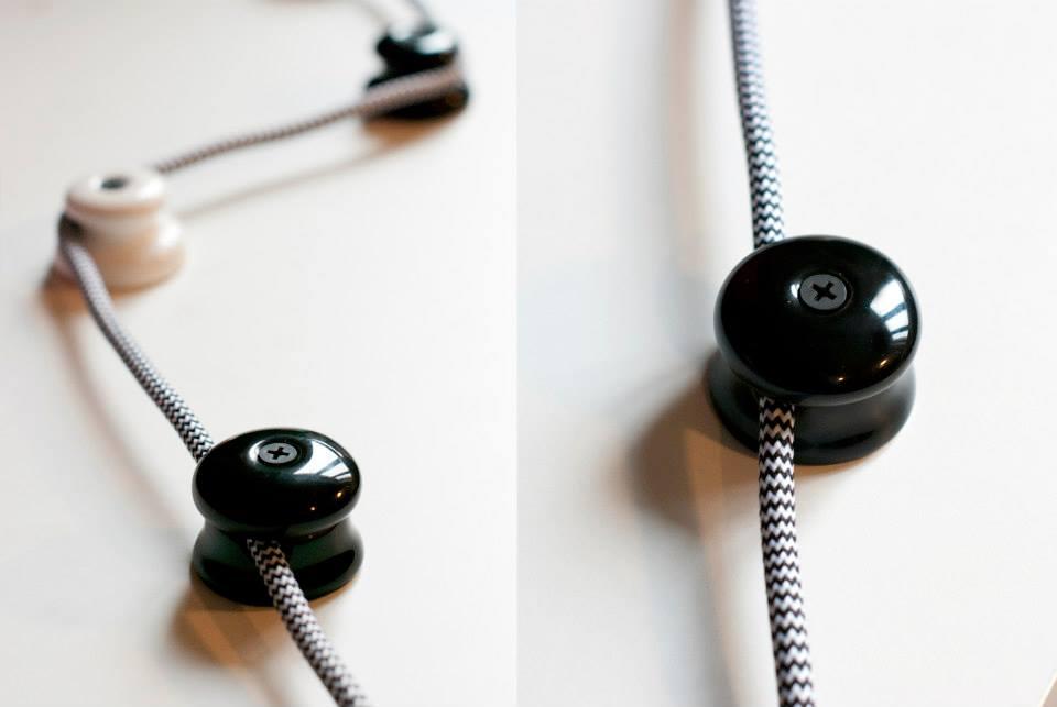 Design-Kabelhalter aus Porzellan – klein und sehr fein!Blog ...