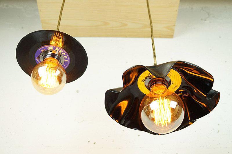 Accende DIY Vinyl-Lampe