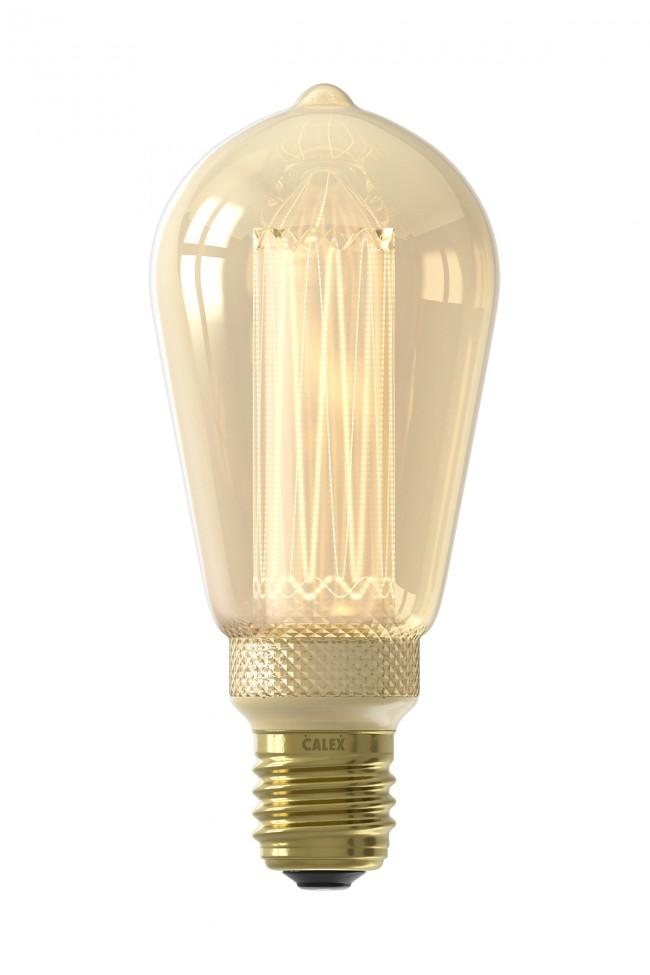 Calex Rustik Glasfaser Gold / 3,5 Watt E27 bei Accende