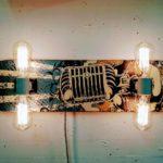 """Hot boards"" – DIY Coole Skateboard-Lampen"