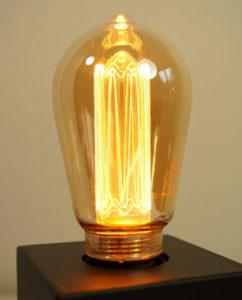 Calex Rustik Glasfaser LED Gold / 3,5 Watt E27 bei Accende